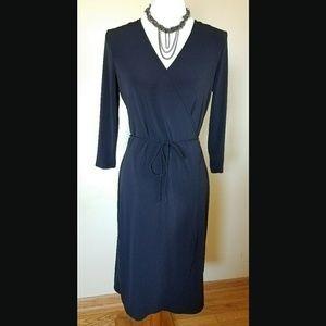 NWOT! Faux Wrap Dress - 1 Black Still Available!